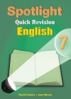 Spotlight Quick Revision English 7