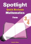 Spotlight Quick Revision Mathematics Form 3 and 4